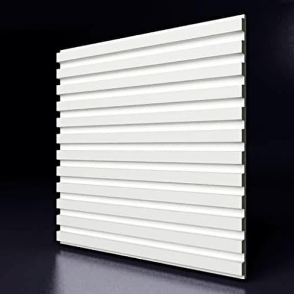 Гипсовые 3D-панели Бэнд 50x50 см