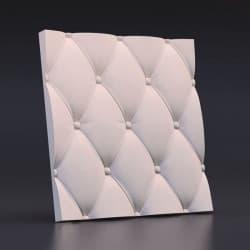 Гипсовые 3D-панели Кожа Вытянутая 50x50 см