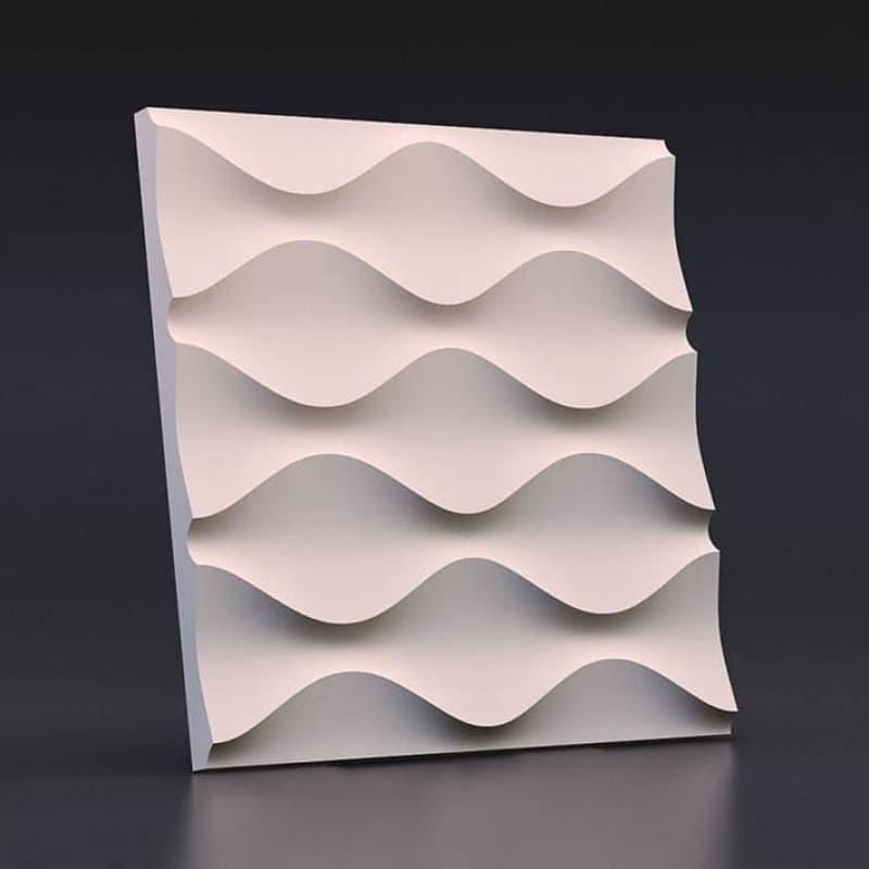 Гипсовые 3D-панели Песочные часы 50x50 см