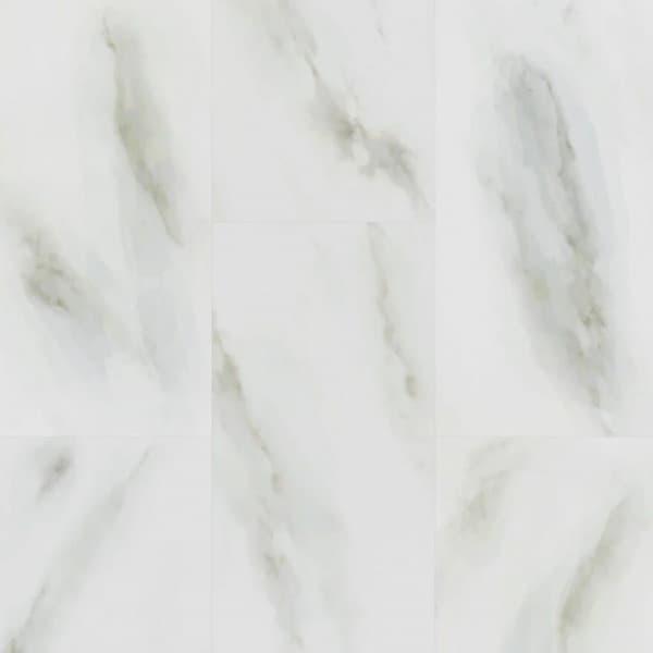 Кварцевый ламинат Fargo Stone Белый Мрамор 6089-1, 33 класс, Толщина 4 мм, 1,8 м2