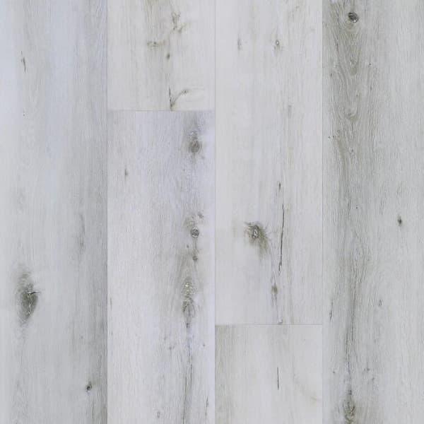 Кварцевый ламинат Fargo Comfort XXL DL1601 Дуб Снежный, 33 класс, Толщина 4 мм, 2,07 м2