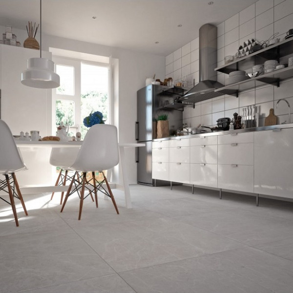 Керамогранит полированный Уральский гранит Granitea G363P Uvildy Grey, Толщина 10 мм, 1,44 м2